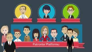 Ebru Bilir - Patronlar Platformu animasyon tanıtım videosu