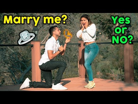 Asking My Girlfriend To MARRY ME! **BEST PROPOSAL EVER**   The Royalty Family