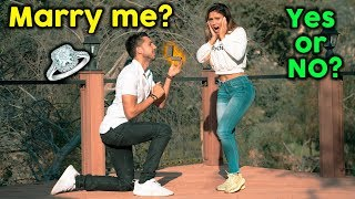 Asking My Girlfriend To MARRY ME! **BEST PROPOSAL EVER** | The Royalty Family
