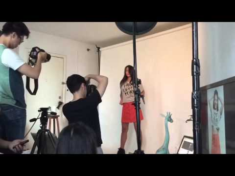 TRE Behind The Scenese Photoshoot With Pevita Pearce By Mario Photographie