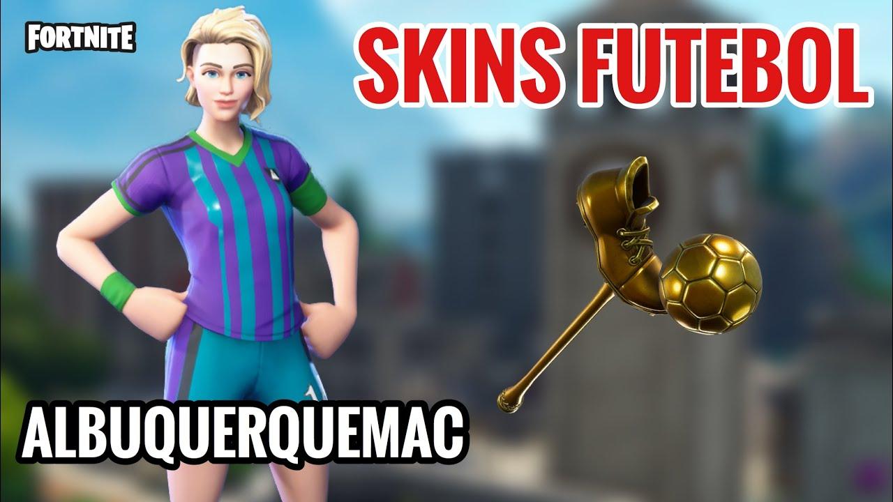 Skin Da Copa Voltou Skins De Futebol Na Loja De Hoje Fortnite 15 02