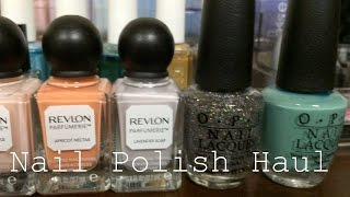 Nail Polish Haul {OPI - Nordic + Coca Cola & Revlon Scented Polish} Thumbnail