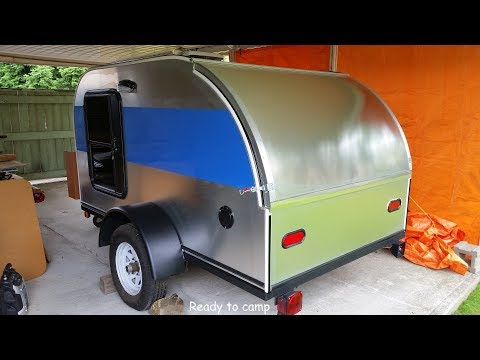 Teardrop Camper Build