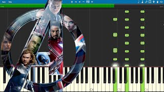 Avengers Endgame Trailer 2 - EASY Piano Tutorial