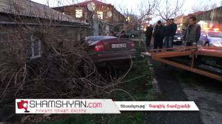 Ավտովթար Աշտարակում  բախվել են 06 ն ու Opel ը  վերջինն էլ հայտնվել է բնակելի շինության պատի տակ