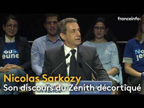 Le meeting de Nicolas Sarkozy décortiqué - franceinfo: