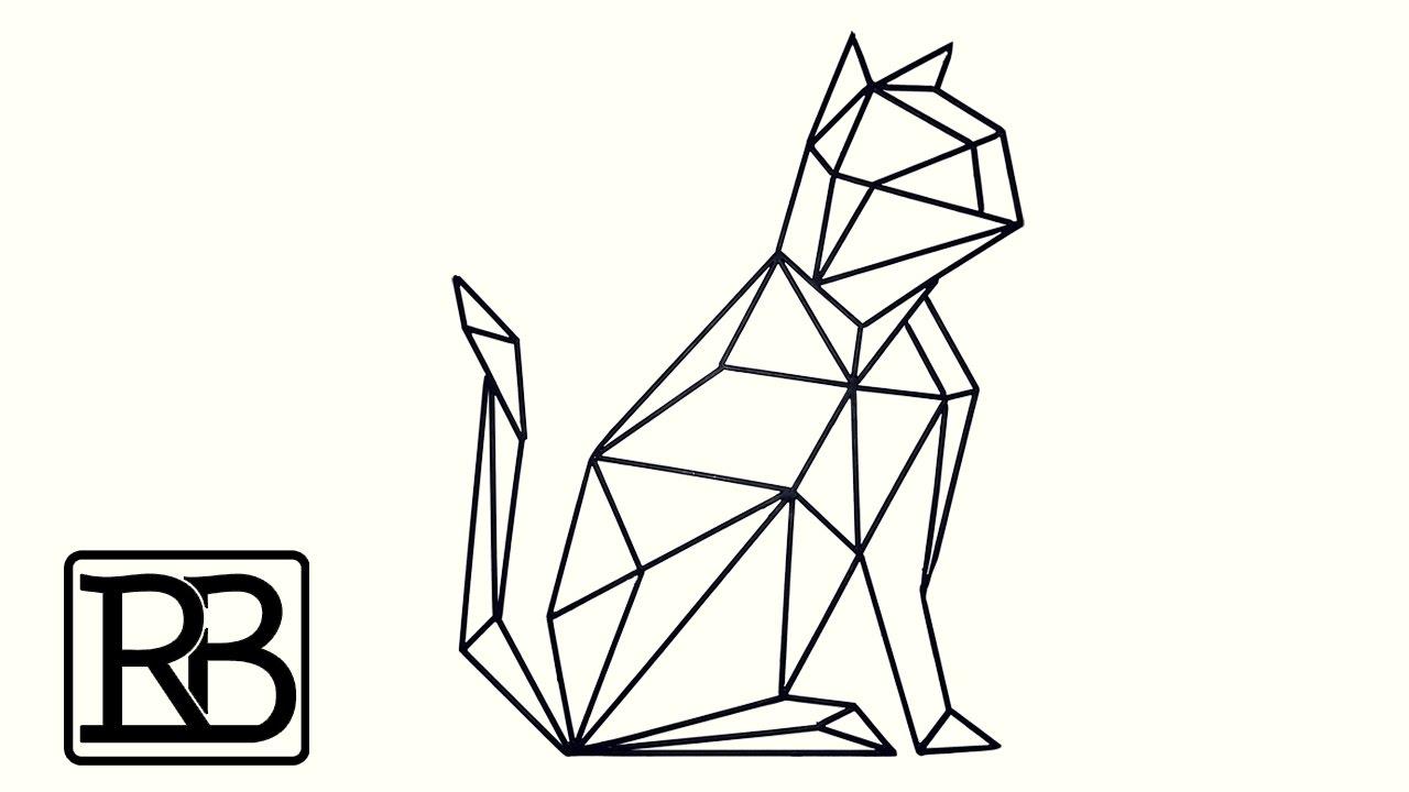 chat geometrique