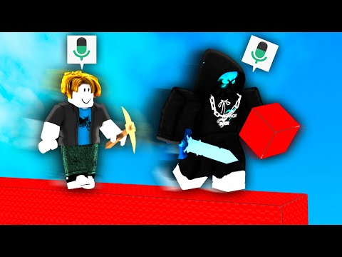 I used VOICE CHAT in Roblox Bedwars..