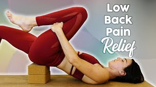 Yoga for Low Back Pain | Deep Relief in Under 20 Minutes, How to Release Psoas, Stretch, Julia Marie