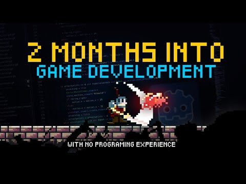 2 MONTHS Into GAME DEVELOPMENT With NO PROGRAMMING EXPERIENCE | Devlog #3 (Godot Game Engine)