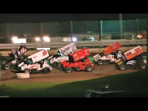 Great Lakes Super Sprints Feature at Thunderbird Raceway on 8-13-16