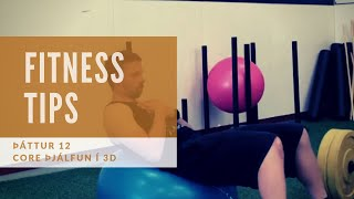 Fitness tips - Þáttur 12 (Core þjálfun)