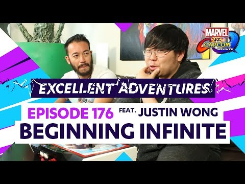 BEGINNING INFINITE ft. Justin Wong! Excellent Adventures Ep. 176 (MvC: Infinite Guide) - 동영상