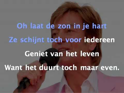 Wily Sommers - Laat De Zon In Je Hart (Karaoke)