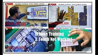 iPhone X Touch Not Working -Full Explained By Asia Telecom  Team  -Join iPhone Training