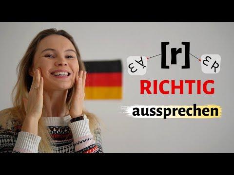 """Deutsches """"R"""" richtig"""
