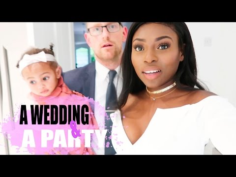I WORE WHITE TO HER WEDDING & GRACE TURNS 1 | PATRICIA BRIGHT - VLOG #2