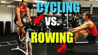Which Is The Best Exercise: Cycling vs. Rowing