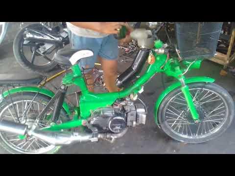 Kereen Motor Modif Sepedah Pancal