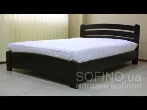 Cмотреть видео Кровать деревянная Венеция Люкс
