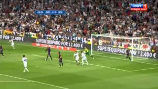 Скачать Real Madrid 2 1 FC Barcelona 29 08 12 Supercopa Spain Highlights