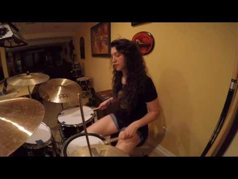 Jessica Burdeaux - Conspiracy - Paramore - Drum Cover