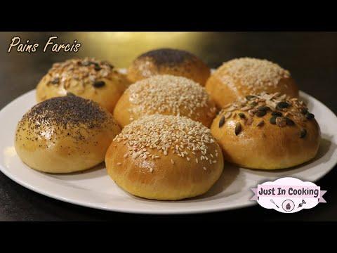recette-des-pains-ou-buns-farcis-au-poulet,-légumes-et-Épices