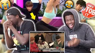 BTS being dirty minded | HILARIOUS (Reaction)