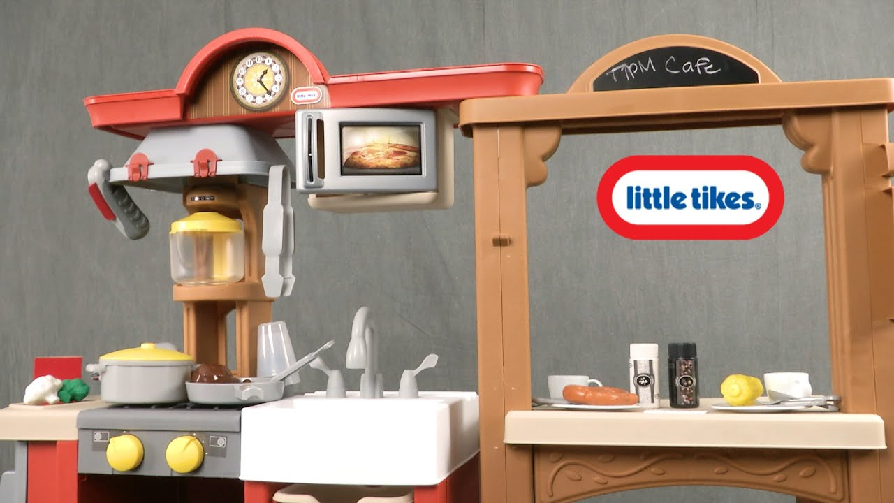Little Tikes Tikes Kitchen and Restaurant from MGA Entertainment ...
