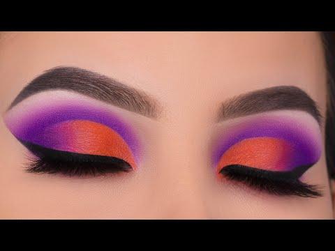 Purple Cut Crease Tutorial   Jaclyn Hill x Morphe Volume 2 palette