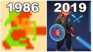 Evolution of The Legend of Zelda Series [4K|FULL|HD]