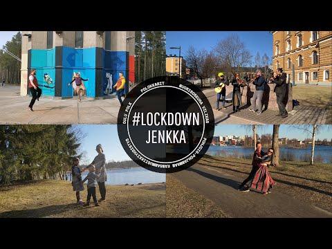 Video: Koronakevään jenkka – Lockdown Jenkka     Kansantanssi – Finnish folk dance