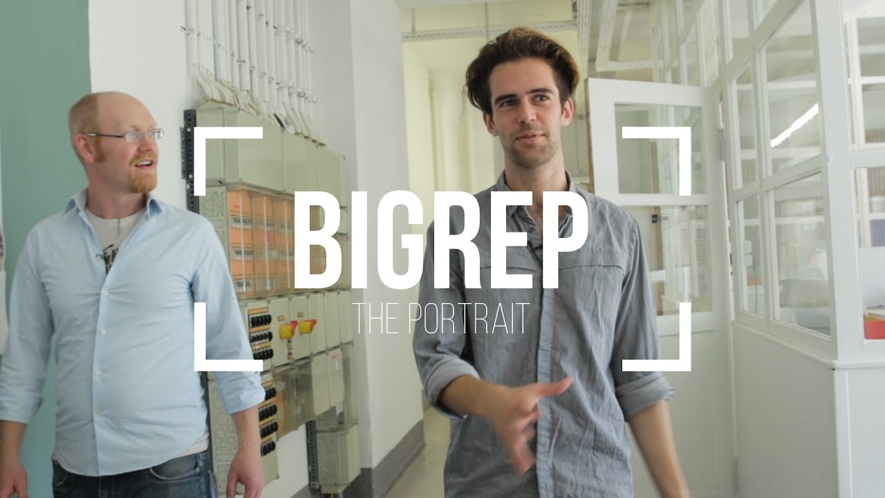 The Future of 3D printing? BIGREP - The Portrait /// SCALE