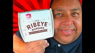 Jack In The Box® Havarti & Grilled Onion Ribeye Burger Review!