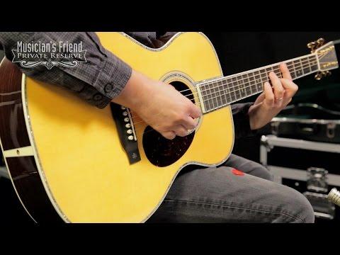 Martin Standard Series OM-42 Orchestra Model Acoustic Guitar, Natural