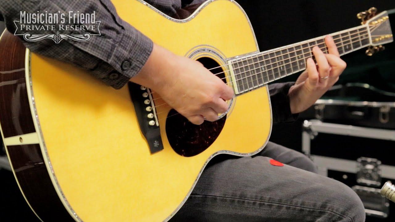 Martin Standard Series OM 42 Orchestra Model Acoustic Guitar Natural