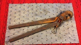 1800's Pipe Wrench...