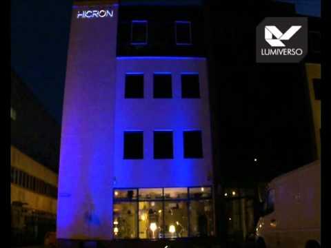 Oświetlenie Led Rgb Iluminacja Elewacji Budynku Wrocław