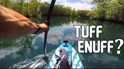 My First Time on a INFLATABLE SUP - Morrison Spring Florida