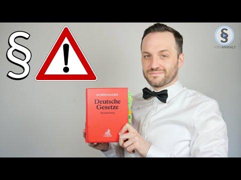 Jurastudium Warnung - 8 Gründe warum du nicht Jura studieren solltest | Herr Anwalt