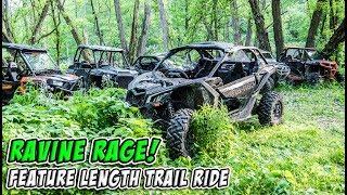 Ravine Rage - UTV Off-Road Adventure in Canada - Feature Length Trail Ride - #TeamAJP Trail Vlog 009