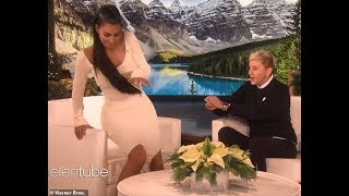 ELLEN SHOW_KIM KARDASHIAN IS SCARED BY SPIDER & SHE TALKS About SEXY INSTAGRAM PHOTOS_VIDEO