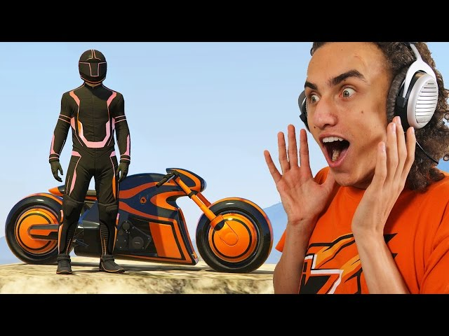NEW EXTREME BIKE LASER FIGHT! (GTA 5 Funny Moments)