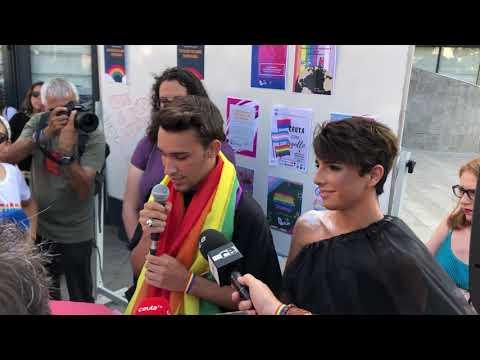 Celebración del Orgullo LGTBI+ en Ceuta 2019