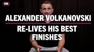 Alexander Volkanovski re-lives his best finishes
