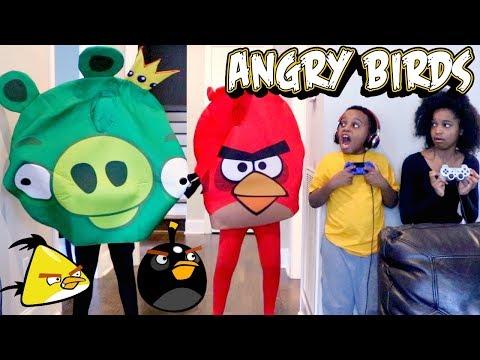 ANGRY BIRDS vs Shiloh and Shasha - Onyx Kids