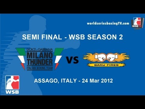 Milan vs Baku - Semi Final WSB Season 2