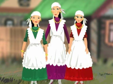 Татарская народная сказка Три дочери