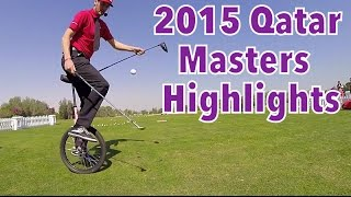Qatar Masters Highlights | 2015 European Tour | Trick Shot Tuesday