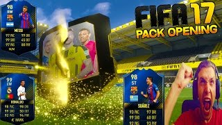 FIFA 17  TOTY INCREDIBLE PACK OPENING !!!